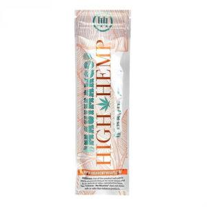 Paquete de wraps sabor mauimango de la marca high hemp