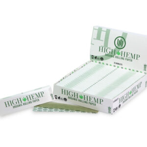 Paquete de libritos de papel para rolar high hemp king size