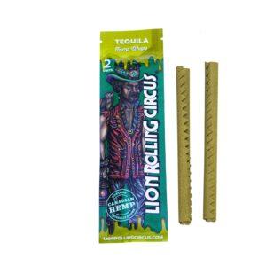 2 Wrap sabor tequila de la marca lion rolling circus