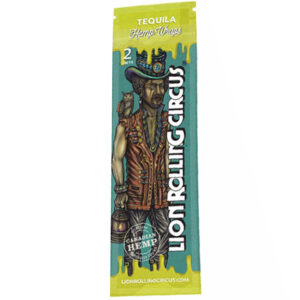 Wrap sabor tequila de la marca lion rolling circus