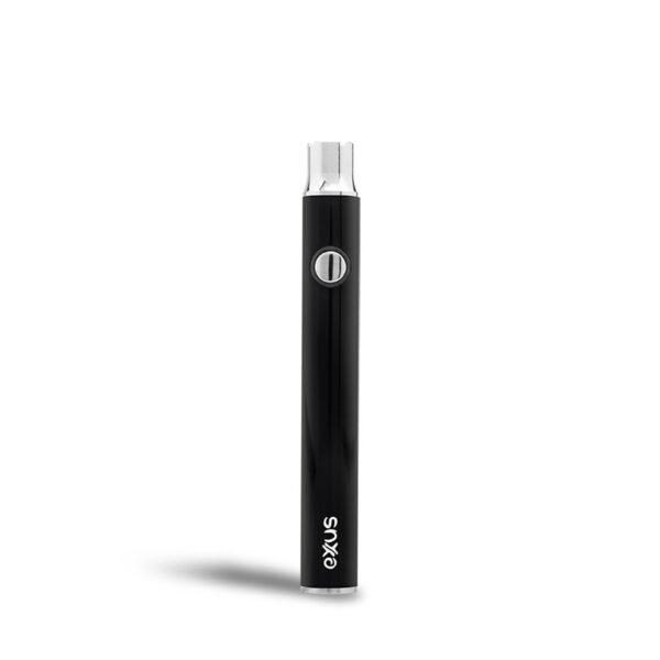 Exxus plus VV cartridge vaporizer color de negro visto de frente