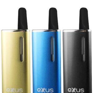 Exxus snap cartridge vaporizer equipos de colores visto de frente