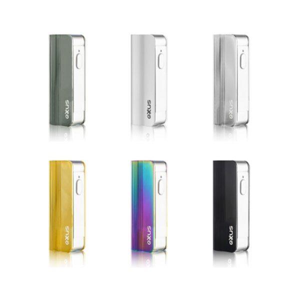 Exxus snap vv mini equipos de colores vistos de frente