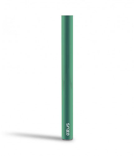 Exxus tap vv auto draw cartridge vaporizer color verde visto de frente
