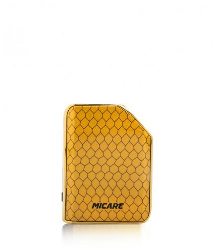 Exxus micare cartridge vaporizer color cobra dorado visto de frente