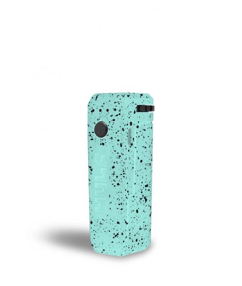 Wulf uni adjustable cartridge vaporizer color menta con puntos negros vista de frente