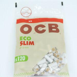 Ocb filtros eco slim vista de frente