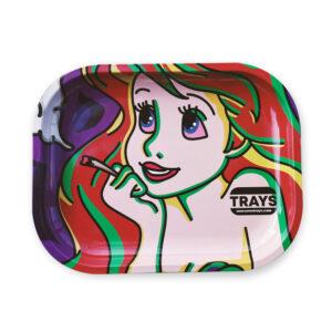 Charola para rolar Ariel la sirenita, de la marca awesome trays