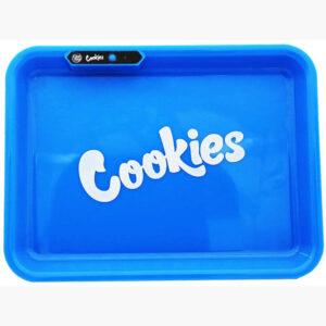Cookies glow tray vista de frente