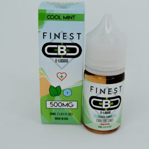 Cbd 1500mg sabor cool mint e-liquid de la marca finest cbd