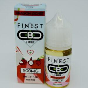Cbd 500mg sabor dragon lychee e-liquid de la marca finest cbd