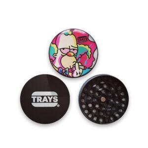 Grinder modelo krusty 3 piezas de la marca awesome trays