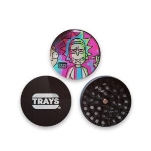Grinder de Rick Sanchez de la marca aweosme trays