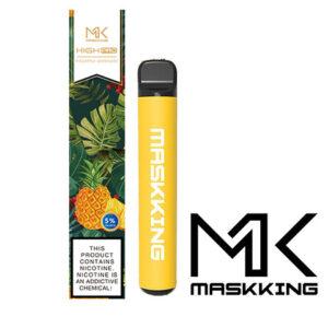 Maskking pro disposable, sabor painapple lemonade visto de frente